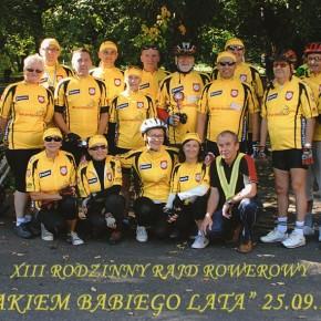 """XIII Rodzinny Rajd Rowerowy """"Szlakiem Babiego Lata"""" w Kołaczkowie - 55km"""