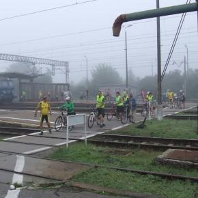 Wizyta grupy rowerowej z Kościana
