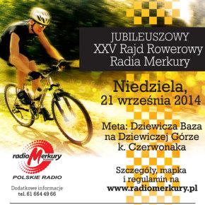 XXV Rajd Rowerowy Radia Merkury