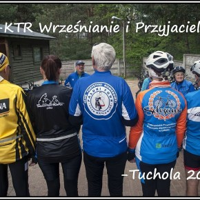 Wyprawa wielkopolskich grup rowerowych do Tucholi