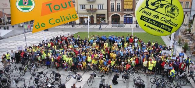 Tour de Calisia czyli VIII Setka Cyklisy w Kaliszu 06.08.2016