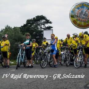 """IV Rajd Rowerowy GR """"Solczanie"""""""