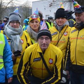 XVII Noworoczne spotkanie rowerzystów nad Rusałką