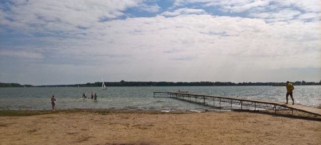 Spontaniczny wypad nad jezioro do Powidza i Przybrodzina