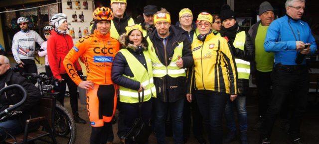 XVIII noworoczne spotkanie rowerzystów nad Rusałką